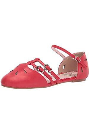 Bettie Page Damen Ballerinas - Damen BP100-POLLY Mary Jane Schuh