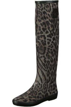 Colors of California Stivale in Neoprene Leopardo HC.NEO6, Damen Fashion Stiefel, (NAT)