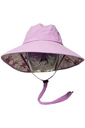 Sun Protection Zone Unisex Booney Hut (Flieder mit Handflächendruck)
