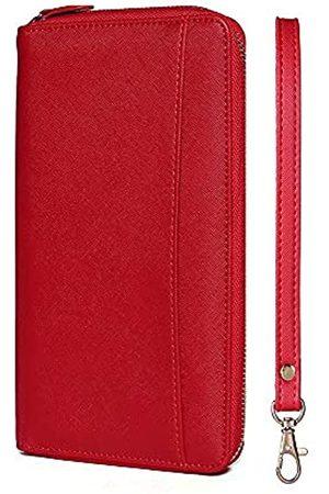 SANDSTYLECO Familien-Reisepasshalter, RFID-blockierend, Dokumenten-Organizer, Tasche, Reisebrieftasche