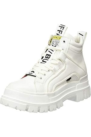 Buffalo Damen ASPHA NC MID Sneaker, White