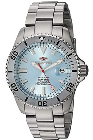 Seapro Herren Scuba 200 Automatik Edelstahl Armband Silber 22 Casual Watch (Modell: SP4317)