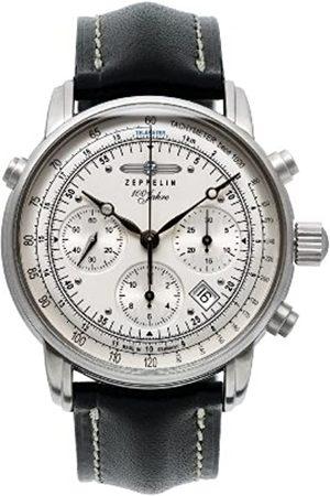 Zeppelin Watches Herren-Armbanduhr XL Analog Automatik Leder 7618-1