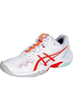 Asics Damen Schuhe - Damen Gel-Blade 8 Running, White/Sunrise RED