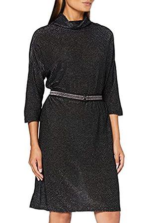 Herrlicher Damen Crissa Jersey Glitter Kleid