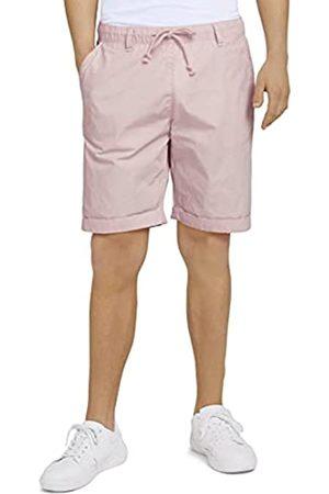 TOM TAILOR Denim Herren 1025521 Jogger Bermuda Shorts, 24802-Soft Peach Skin