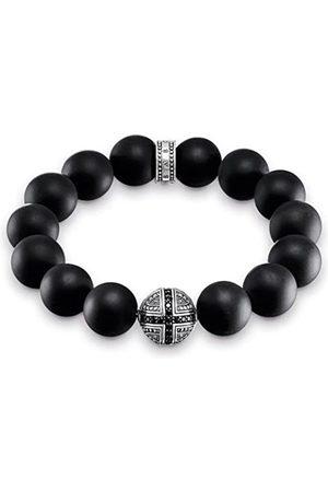 Thomas Sabo Herren-Armband Power Bracelet Kreuz Rebel at Heart 925 Sterling Silber 16 cm A1572-705-11-L16