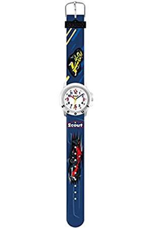Scout Jungen Analog Quarz Uhr mit Kunststoff Armband 280393032