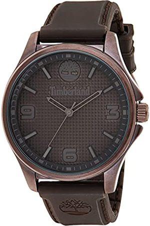 Timberland Herren Analog Quarz Uhr mit Silicone Armband TBL15947JYBN.12P