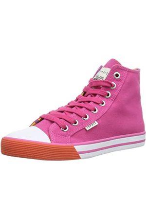 Esprit Conny Vivid Hi 024EKKW016, Mädchen Sneaker, Pink (sea rose 693)