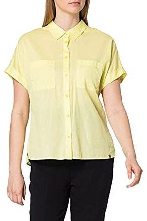Camel Active Womenswear Damen 3098205S65 Bluse, Zitrone