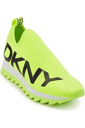 DKNY Damen Sneaker, Neongrün/ Azer