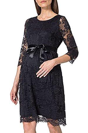 ESPRIT Maternity Damen Dress 3/4 sl Kleid, Night Sky Blue-485