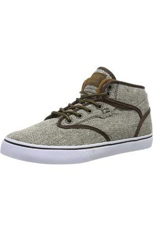 Globe Motley Mid GBMOTLEYM Unisex-Erwachsene Sneaker, (Brown Herringbone 17247)