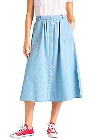 Lee Damen Chambray Skirt Rock