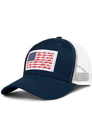 Naicissism Trucker Hüte mit amerikanischer Fischflagge – Angelgeschenke für Männer – Outdoor Snapback Angelhüte perfekt für Camping und den täglichen Gebrauch - - Einheitsgröße