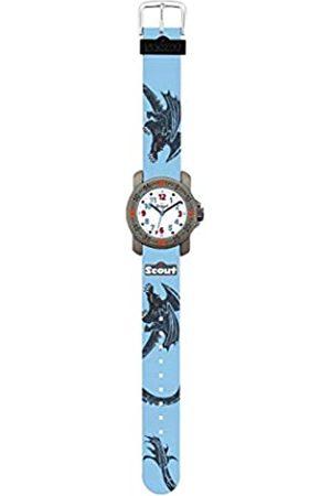 Scout Uhren Jungen Analog Quarz Uhr mit Textilband Armband 1