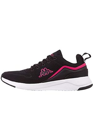 Kappa Darou Unisex Straßen-Laufschuh, 1122 Black/Pink