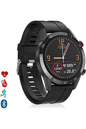 DAM Smartwatch L13 Silikon-Armband, Multi-Sport-Modus, Herzfrequenzmonitor, Blutdruck
