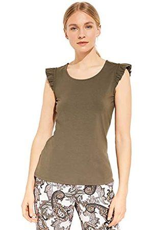 comma Damen 81.005.32.3680 Kurzarm T-Shirt