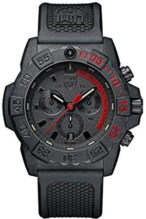 Luminox Unisex Erwachsene Analog Automatik Uhr mit Gummi Armband XS.3581.EY