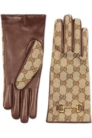 Gucci GG Supreme Handschuhe