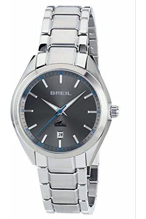 Breil Herren Analog Quarz Uhr mit Edelstahl Armband TW1611