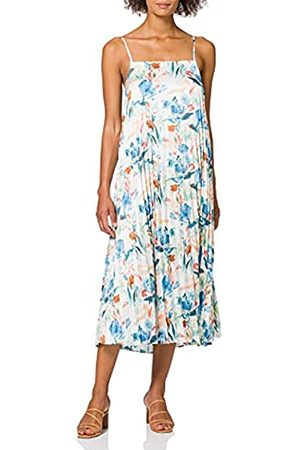Herrlicher Damen Annalena Dress Satin Print Kleid