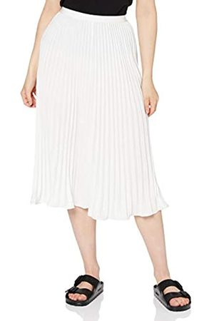 French Connection Damen Crepe Light Pleated MIDI Skirt Rock