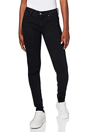 Replay Damen Luz High Waist Jeans, Black