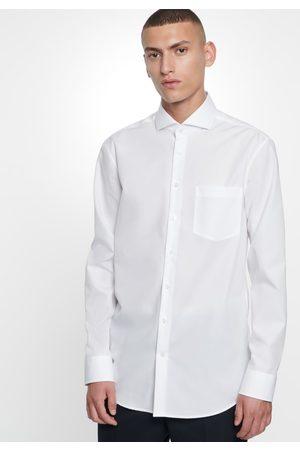 Seidensticker Businesshemd »Regular«, Regular Langarm Haifischkragen Uni