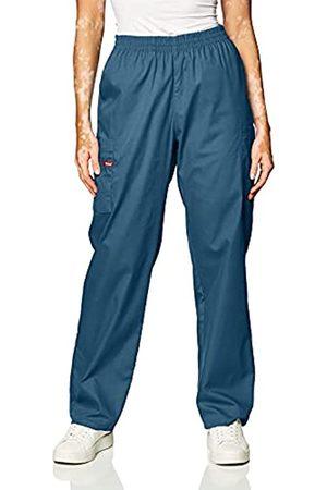 Dickies Damen-Skrubs-Hose mit elastischer Taille - Blau - Mittel