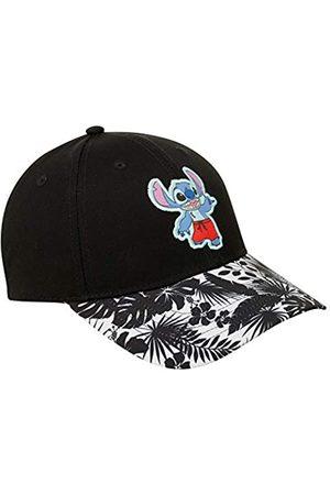 Disney Men's Baseball Cap – Lilo & Stitch Curved Brim Snap-Back Baseball Hat