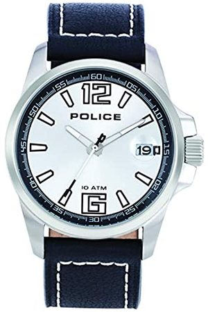 Police Herren-Armbanduhr Lancer Analog Quarz Leder P12591JS-14