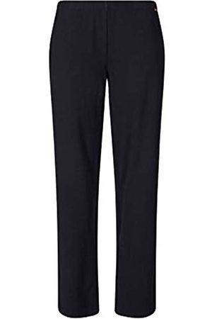 Skiny Damen Sleep & Dream Hose lang Schlafanzughose, Black