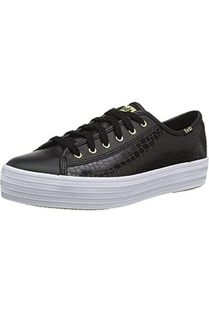 Keds Damen Triple Kick Leather Croc Sneaker