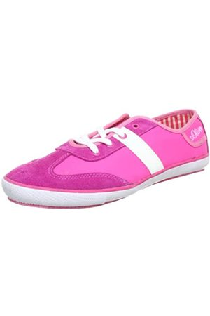 s.Oliver Casual 5-5-53220-20, Mädchen Sneaker, Pink (Fuxia 532)