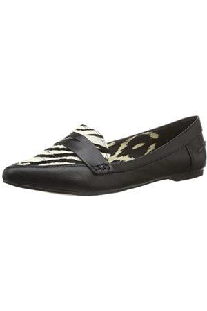 Bronx BX 702 65098-D Damen Ballerinas, (Black/Zebra 857)