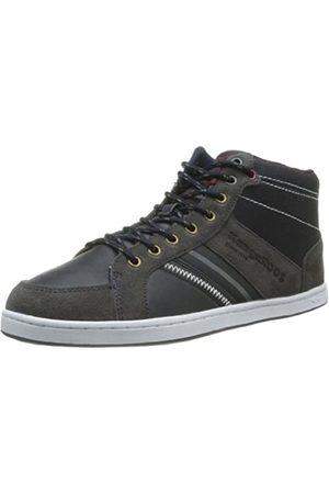 KangaROOS Jurek 7442A Unisex-Erwachsene Sneaker, (k. Blue/Dark Grey/Burgundy 422)
