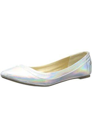 Blink BL 413 601766-AF Damen Ballerinas, (Silver 100)