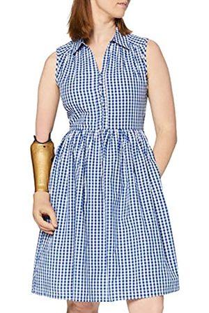 French Connection Damen RETA Check Sleeveles SHRT DRSS Lssiges Kleid