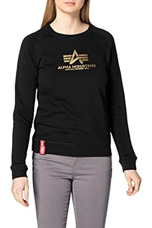 ALPHA INDUSTRIES Damen New Basic Sweater Wmn Foil Print Sweatshirt