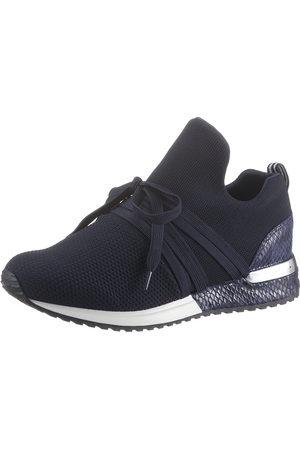 La Strada Slip-On Sneaker »Fashion Sneaker«, mit glänzendem Metallicbesatz am Absatz