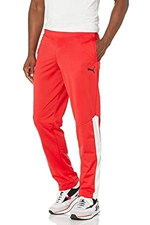 PUMA Herren Contrast Pants Trainingshose, High Risk Red W
