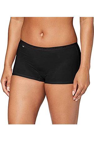 Sloggi Damen Panties Basic + Short (Black 0004)