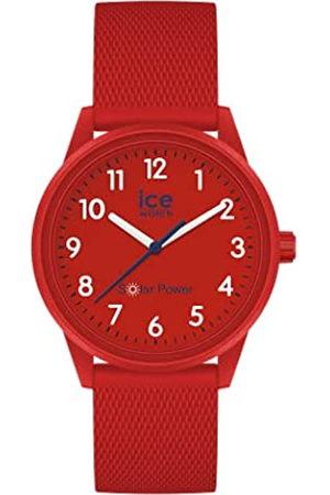 ICE-WATCH ICE Solar Power Red Mesh -e Jungenuhr mit Silikonarmband - 018481 (Small)