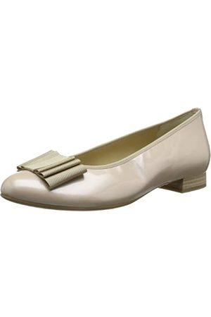 Hassia Damen Ballerinas - Fermo, Weite G 7-301014-08000 Damen Ballerinas, (Nude 0800)
