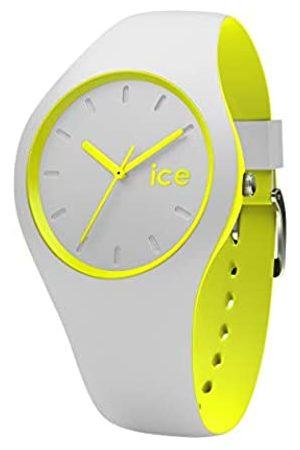 Ice-Watch ICE duo Grey Yellow -e Herren/Unisexuhr mit Silikonarmband - 001500 (Medium)