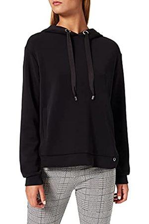 Comma, Damen Sweatshirt Langarm Kapuzenpullover
