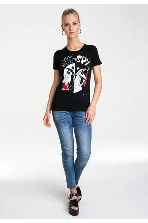 LOGOSHIRT T-Shirt »Spy vs. Spy - Bomb and Dynamite«, mit lizenziertem Originaldesign